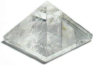 SHIVANSH CREATIONS Healing Crystals Chakra Stones Quartz Pyramid, Reiki Energy Meditation Negative Ion Generator Pyramid f...