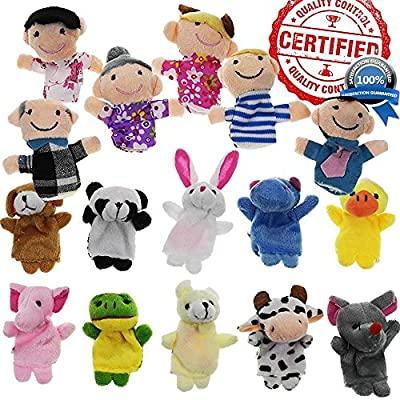 Finger Puppets from Yabber