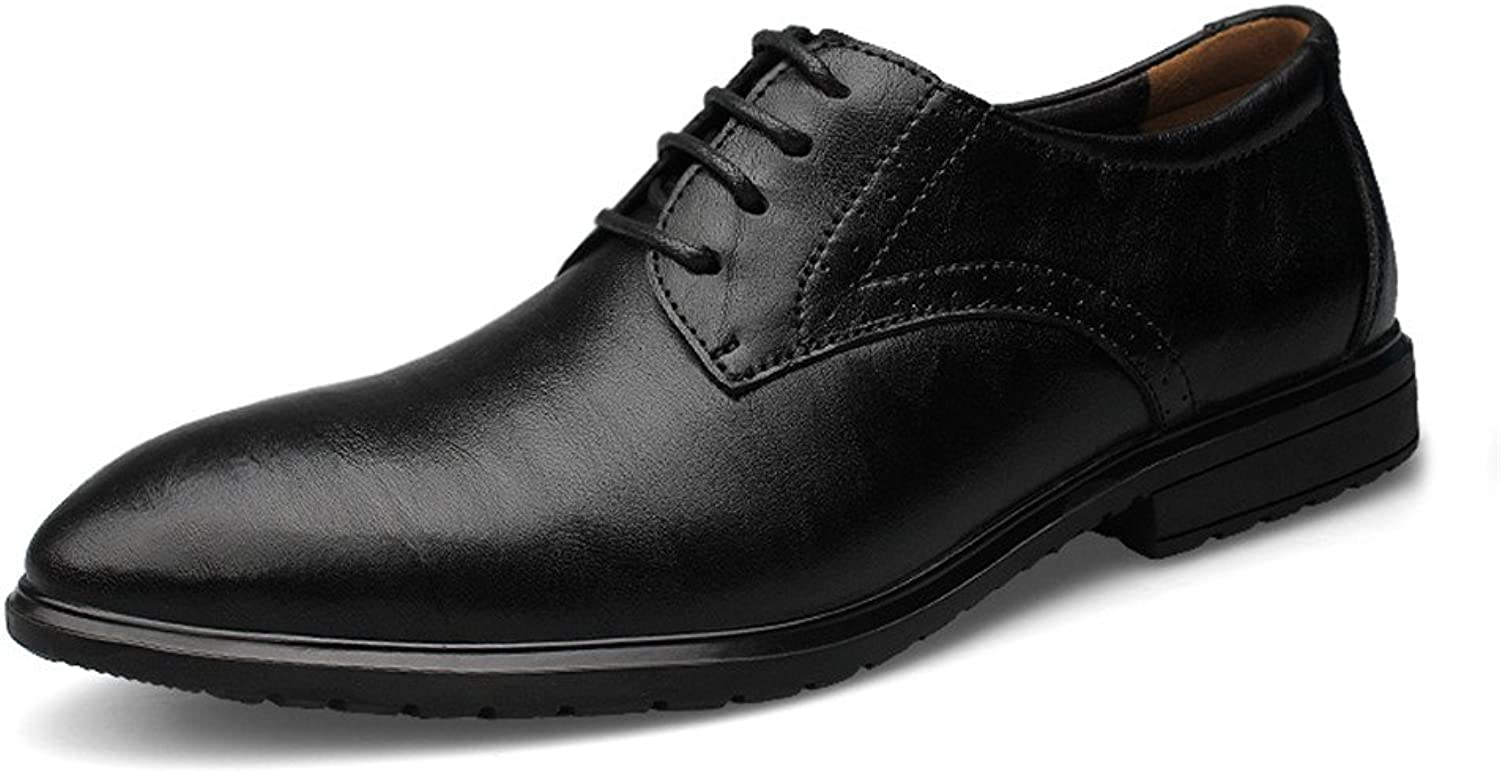 Z.L.F shoes Men's Business Oxford Casual New Invisible Inner Heighten Formal shoes Leather shoes