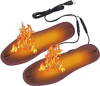 USB Verwarmde Inlegzolen, Elektrische Verwarming Inlegzolen Thermische Zolen Warmere Schoenen Laarzen Inlegzolen Houd Voet...