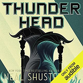 Thunderhead     Arc of a Scythe              By:                                                                                                                                 Neal Shusterman                               Narrated by:                                                                                                                                 Greg Tremblay                      Length: 13 hrs and 2 mins     101 ratings     Overall 4.9