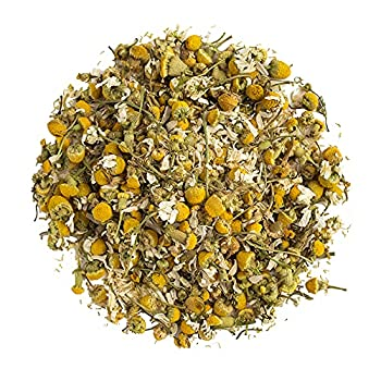 Organic Positively Tea Company Chamomile Herbal Tea Loose Leaf 16 Ounce