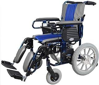 Sillas de ruedas eléctricas para adultos, ligeras, plegables para adultos, sillas eléctricas para discapacitados con joystick, silla de ruedas de doble función, potencia eléctrica o hombre