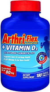 Arthri-flex Advantage 180 Count Tablets (2 Pack)