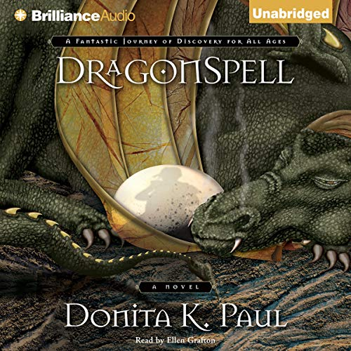 DragonSpell audiobook cover art