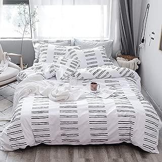 Best black and white greek key bedding Reviews