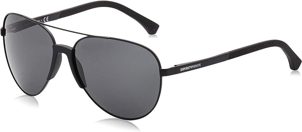 Emporio armani, occhiali da sole da uomo, neri EA2059_ParentA