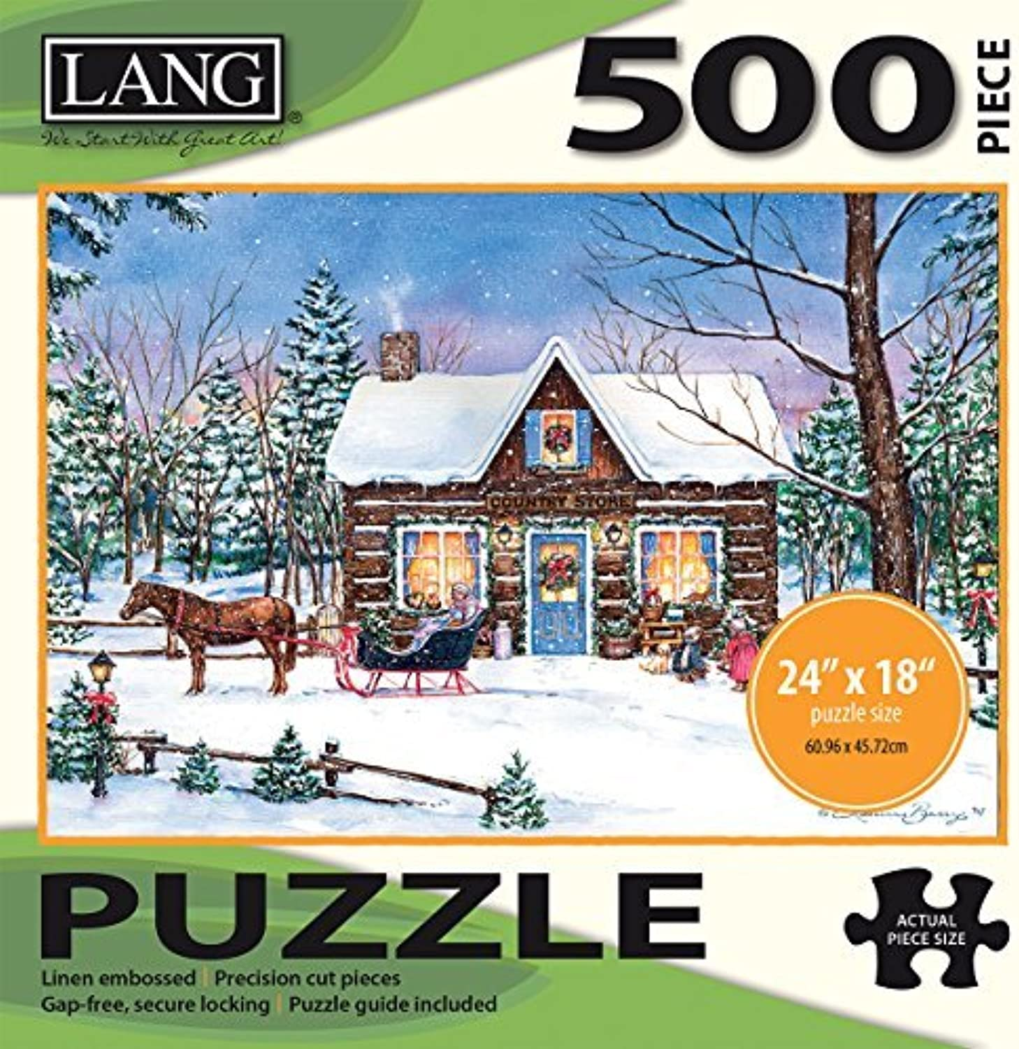 Lang Magical Evening Puzzle (500 Piece) by Perfect Timing Puzzles