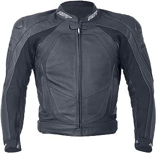 RST Blade II 1935 Ladies Leather Motorcycle Motorbike Sports Jacket - Black 14
