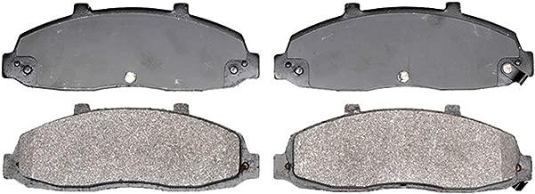ACDelco 14D679M Advantage Semi-Metallic Front Disc Brake Pad Set with Wear Sensor