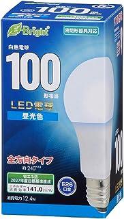 オーム電機 LED電球 E26 100形相当 昼光色 LDA12D-G AG27 06-4348 OHM