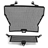 BGGZZG Motocicleta S1000R Radiador Grúa Guard Cover and Oil Cooler Guard Set/Fit for BMW S 1000 R 2013 2014 2015 2016 2017 2018 2019 2020x (Color : NO Logo)