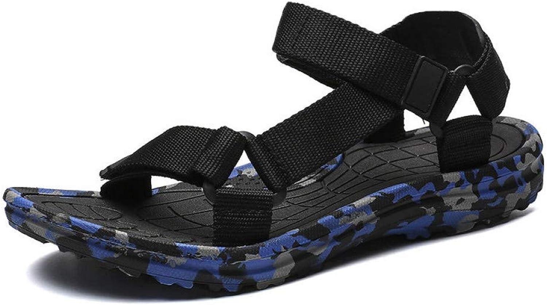 Tanxianlu Men Sandals Summer Camouflage Beach Sandals Casual shoes Outdoor Sandalias For Men