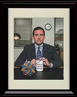 Framed Steve Carell Autograph Replica Print - Michael Scott - The Office