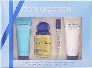 Don Algodon Set de Agua de Colonia Agua de Colonia Mini Gel de Ducha y Loción Corporal - 260 ml