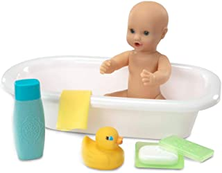 Melissa & Doug Mine to Love Baby Doll Bathtub and Accessories Set - White (6 Pieces, Great  Girls and Boys - Best for 3, ...