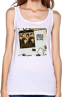INXS Shabooh Shoobah Shirt Womens Crop Top Summer T Shirt Dew Navel T-Shirt