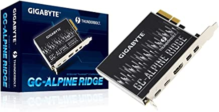 GIGABYTE (Alpine Ridge Thunderbolt 3 PCIe Card Components Other GC-Alpine Ridge