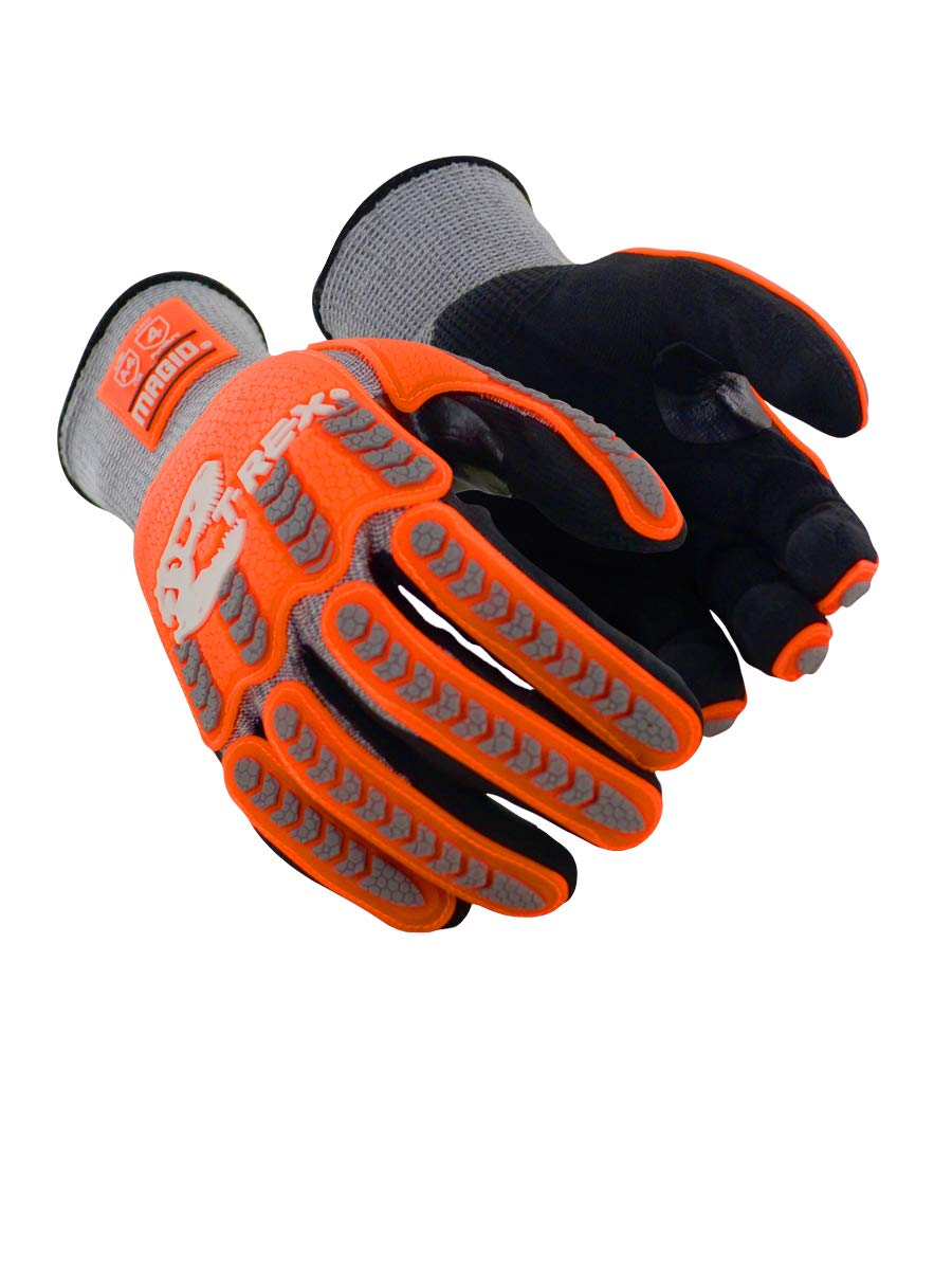 Magid Glove Max 61% OFF Safety Multipurpose Clearance SALE! Limited time! Or Impact Grey Shell