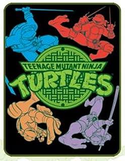Teenage Mutant Ninja Turtles Neon Lightweight Fleece Blanket ...