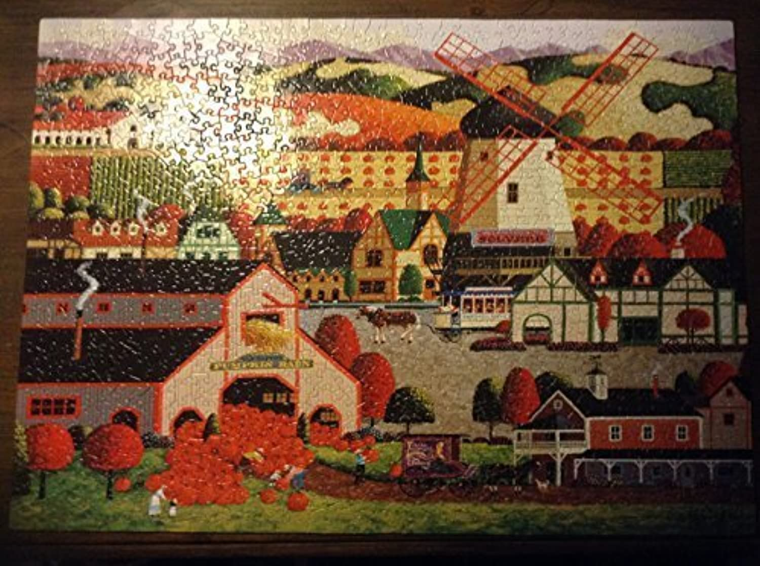 Hometown Collection Solvang 1000 Piece Puzzle by Mega Brands