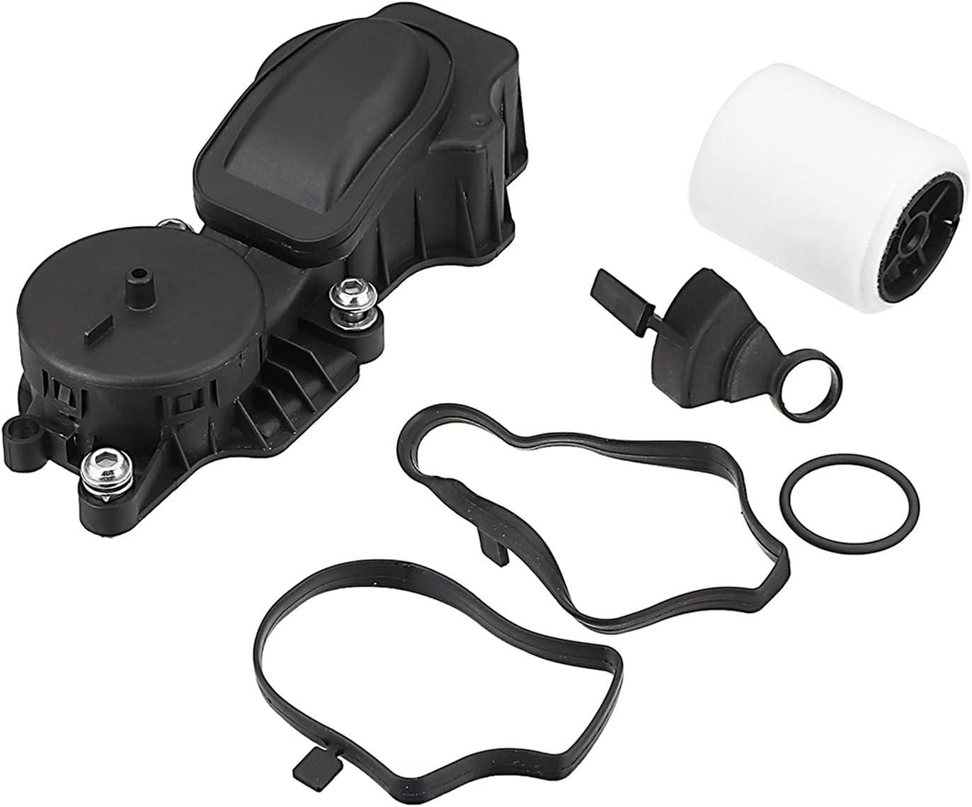 ZHANGHANG # 11127791552 Filtro de Aceite del Motor Separador de Aceite Separador de cigüeñal Ventilación de ventilación de cigüeñal Ajuste para BMW E46 E60 E61 ZH