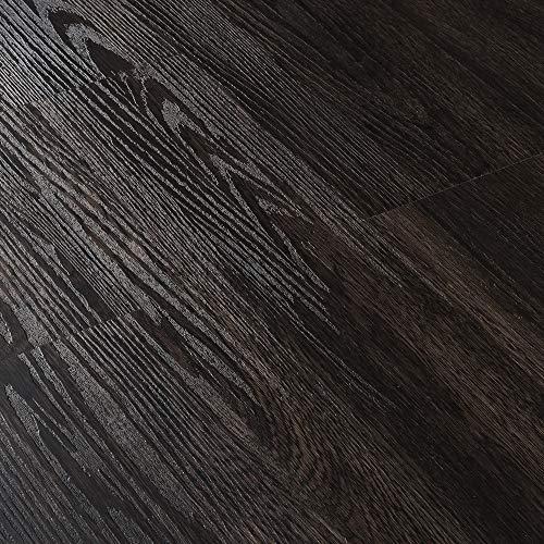 [neu.haus] Vinyl Laminat Sparpaket 4m² Selbstklebend Wenge 28 Dekor Dielen Design Bodenbelag gefühlsecht strukturiert