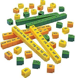 Didax Educational Resources Unifix Letter Blends Cubes Set