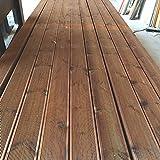 [TOP] Pavimento in legno per esterno / piscina in decking in PINO+ 12x2,8x205 cm ( 2 pezzi...
