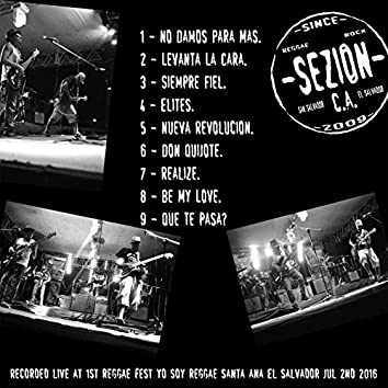 seZion live at 1st Reggae Fest Yo Soy Reggae