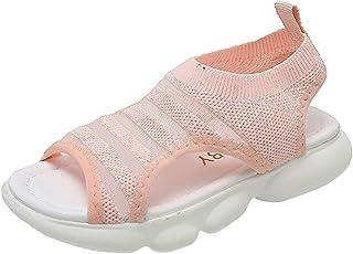 Chaussures Romaines Sandales Fille D'éTé Sandales Bowknot Mignonne Plage Respirant Extérieur Athlétique Sandales antidérap...