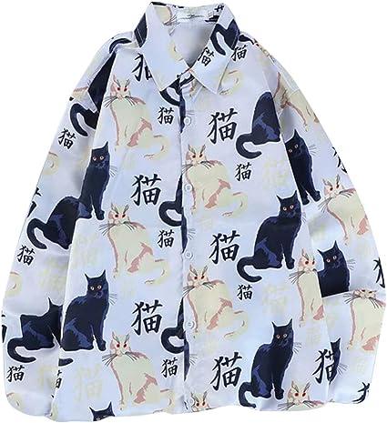 Sxgyubt - Camisa de manga larga para hombre y mujer plateado ...