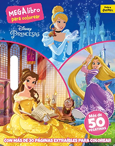 Princesas. Megalibro para colorear (Disney. Princesas)