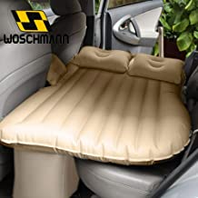 Woschmann - Car Inflatable Bed Protable Camping Air Mattress with 2 Air Pillows- (Beige)