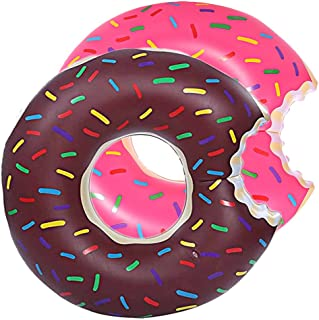 DMAR 1pcs 120cm Pool Floats for Adults Inflatable Donut Pool Float Swim Rings Single