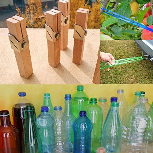 Kicode Creativo al Aire Libre DIY Botella de plástico Cuerda ...