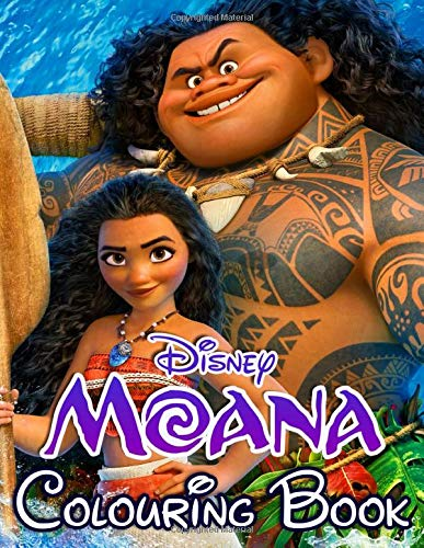 Disney Moana Colouring Book: Art of Colouring, High quality images to relax and inspire creativity