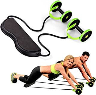 JKL Masajeador Sport Core Double AB Roller, Equipo de Ejerci