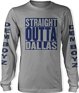 Millionaire Mentality Straight Outta Dallas Long Sleeve Grey T-Shirt (Limited Edition)