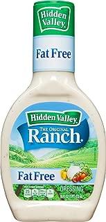 Hidden Valley Original Ranch Fat Free Dressing, 16 Oz (Pack of 3)