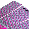 FCS Fitzgibbon Athlete Series Traction Pad Grey-Bright Pink #2