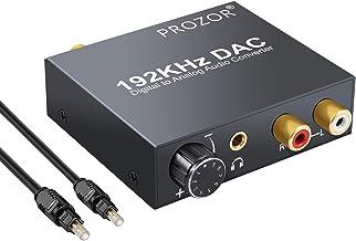 Proster DAC Convertidor Digital a Analógico 192kHz Adaptado