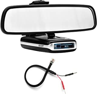 Radar Mount Mirror Mount Bracket + Mirror Wire Power Cord for Escort Max Max2 (3001102)