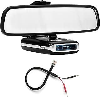 Radar Mount Mirror Mount Radar Detector Bracket + Mirror Wire Power Cord - Escort MAX MAX2