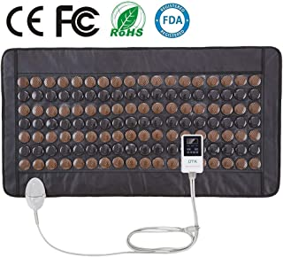 UTK Infrared Tourmaline Heating Pad, Medium T-plus 55 X 97cm, Temp Control, Auto Off