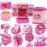 Fansport Kinder Spielzeug, Küchengerät Spielzeug Mini Küche Kochen Spielzeug Set für Kinder
