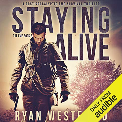 Staying Alive     A Post-Apocalyptic EMP Survival Thriller (The EMP)              De :                                                                                                                                 Ryan Westfield                               Lu par :                                                                                                                                 Kevin Pierce                      Durée : 6 h et 27 min     Pas de notations     Global 0,0