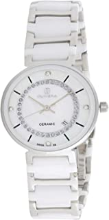 Olivera Casual Watch Analog for Women, Stainless Steel, OL1348