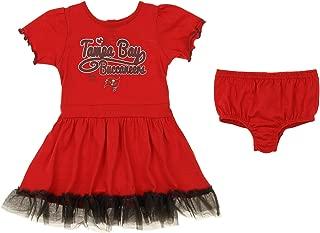 Outerstuff NFL Girl's Infant & Toddler (12M-4T) 2 Piece Dress, Team Variation
