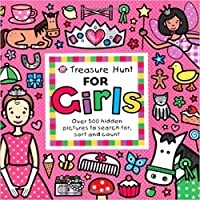 Treasure Hunt for Girls: Over 500 Hidden Pictures to Search For, Sort and Count (Priddy Books Big Ideas for Little People)